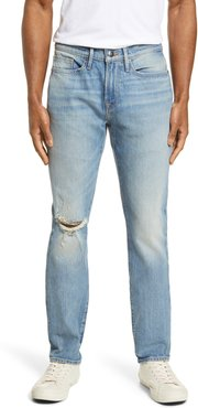 L'Homme Ripped Skinny Fit Jeans