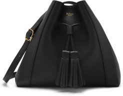 Small Millie Leather Tote - Black