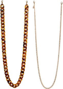 2-Pack Adult Face Mask Chains