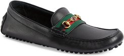 Ayrton Horsebit Web Driving Loafer
