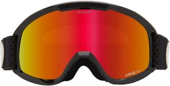 Dx2 51mm Snow Goggles With Bonus Lens - Split/ Red Ion/ Rose