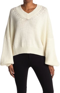 RODEBJER Cayenne Wool Blouson Sleeve Sweater at Nordstrom Rack