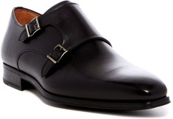 Magnanni Carmo Leather Double Monk Strap Loafer - Wide Width Available at Nordstrom Rack