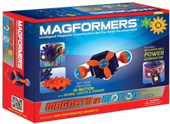 Boy's Magformers 'Magnets In Motion' Construction Set