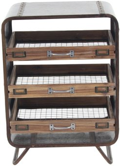 Willow Row Brown/Gray Tray Chest at Nordstrom Rack