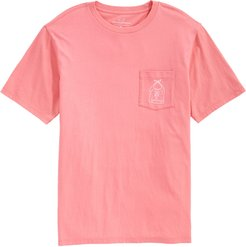 Lobster Bib Pocket Classic Fit T-Shirt