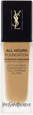 All Hours Full Coverage Matte Foundation With Spf 20 - Bd60 Warm Amber