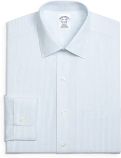 Big & Tall Brooks Brothers Regent Regular Fit Stripe Dress Shirt