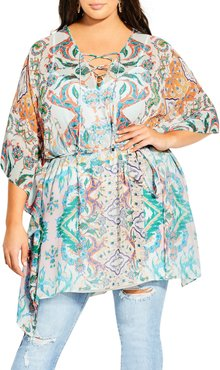 Plus Size Women's City Chic Casablanca Tunic Top