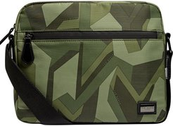 Comms Camo Messenger Bag - Green