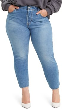Plus Size Women's Levi's Wedgie High Waist Ankle Skinny Jeans