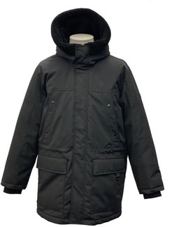 Weather Resistant Hooded Parka