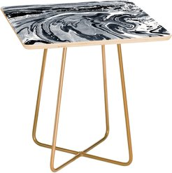 Marble Monochrome Side Table