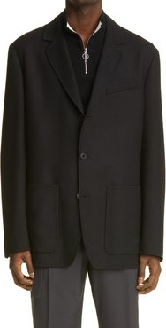 Giacca Virgin Wool Sport Coat