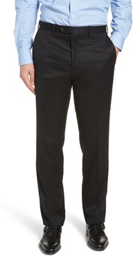 Big & Tall John W. Nordstrom Torino Classic Fit Flat Front Solid Dress Pants