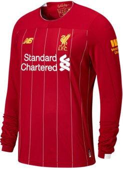 Liverpool FC Home LS Jersey No EPL Patch