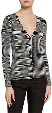 Cardigan Button Front