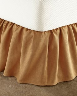 King Monterey Solid-Color Dust Skirt