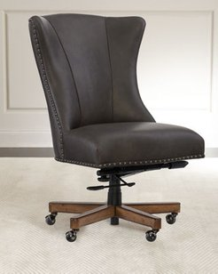 Shawnee Leather Office Chair