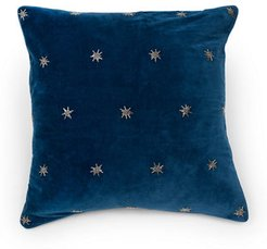 Embroidered Star Pillow