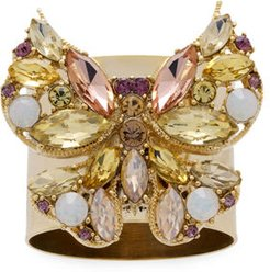 Jeweled Butterfly Napkin Rings, Set of 2