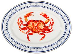 Crab House Oval Platter
