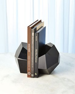Crystal Bookends, Set of 2