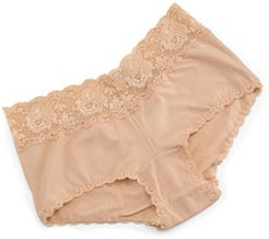 Plus Size Never Say Never Cheekie Low-Rise Hotpants