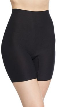 Soft Stretch High-Rise Mid-Thigh Shaping Shorts