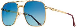 Masterpiece XL Gold-Plated Sunglasses