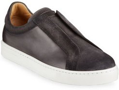 Laceless Slip-On Sneakers