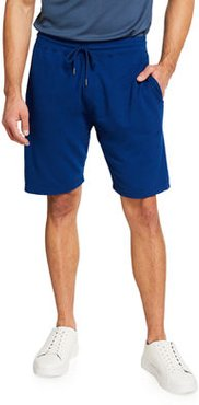 Solid Knit Sweat Shorts