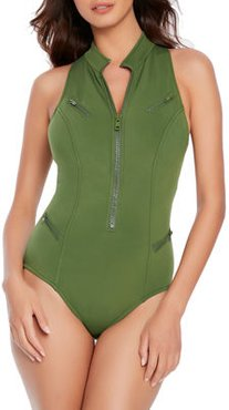 Deep Dive Coco Underwire One-Piece Swimsuit