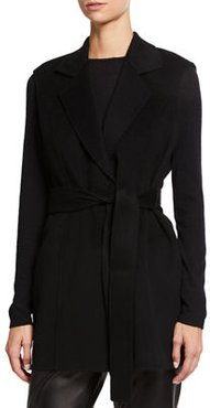 DF NOTCH COLLAR VEST WITH BE