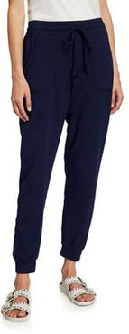Plus Size Stretch French Terry Jogger Pants