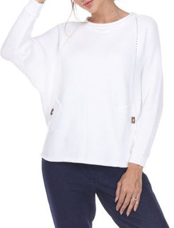 Take a Chance Rolled-Trim Sweater