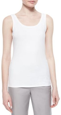 Plus Size Perfect Jersey Scoop-Neck Tank