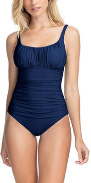Tutti Frutti Ruched One-Piece Swimsuit