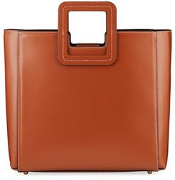 Shirley Two-Piece Leather Tote Bag