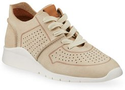 Raina Lightweight Nubuck Jogger Sneakers
