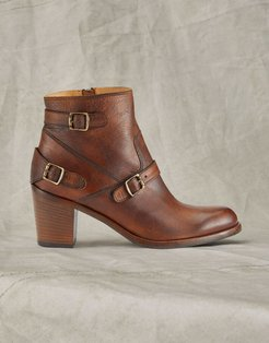 TRIALMASTER SHORT LEATHER BOOTS Brown US 11 /