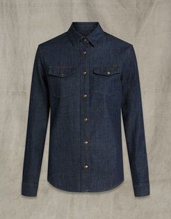 REMMIE SHIRT Blue US 4 /