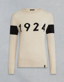 1924 CREW NECK JUMPER Multicolor