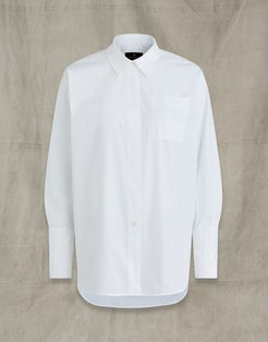 IDLER COTTON SHIRT White US 6 /