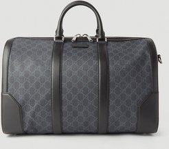 GG Carry-On Duffle Bag in Black | LN-CC male Black 100% GG Supreme Canvas. 100% Leather.45095