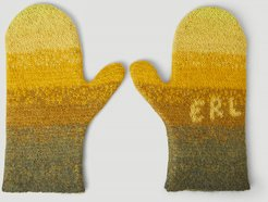 Knit Gloves in Yellow   LN-CC male Yellow 51% Mohair, 29% Nylon, 18% Alpaca, 2% Wool. Dry clean. 46019
