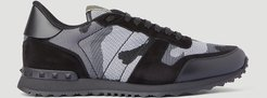 Rockrunner Camouflage Sneakers | LN-CC male Black 100% Synthetic Fabrication. 100% Leather. 100% Rubber.45053