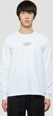 Recycled Fear T-Shirt | LN-CC male White 100% Recycled Cotton. Dry clean.42006