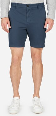 """Midweight Chino 7"""" Slim Short by Everlane in Navy, Size 29"""