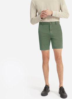 """Midweight Chino 7"""" Slim Short by Everlane in Surplus, Size 36"""